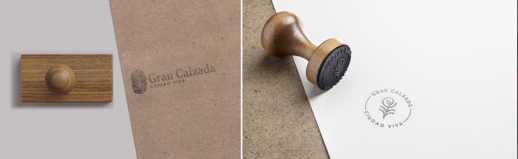 Gran Calzada branding